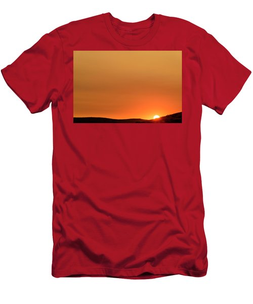 Sunrise Over The Umtanum Ridge Men's T-Shirt (Athletic Fit)