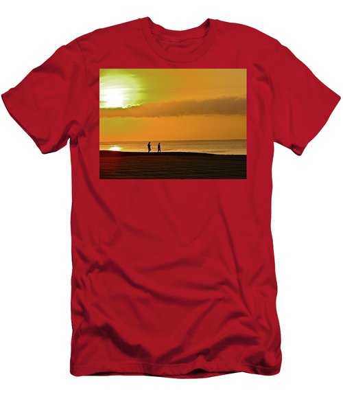 Sunrise Stroll Men's T-Shirt (Athletic Fit)