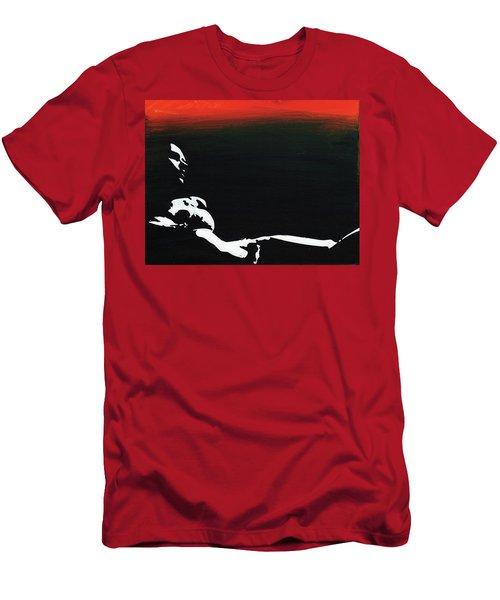 Sunset Bathing  Men's T-Shirt (Athletic Fit)