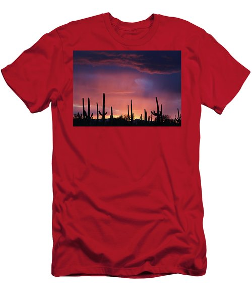 Sunset Colors Men's T-Shirt (Athletic Fit)