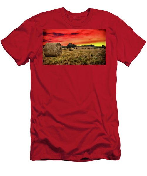 Sunset In The Hay Men's T-Shirt (Athletic Fit)
