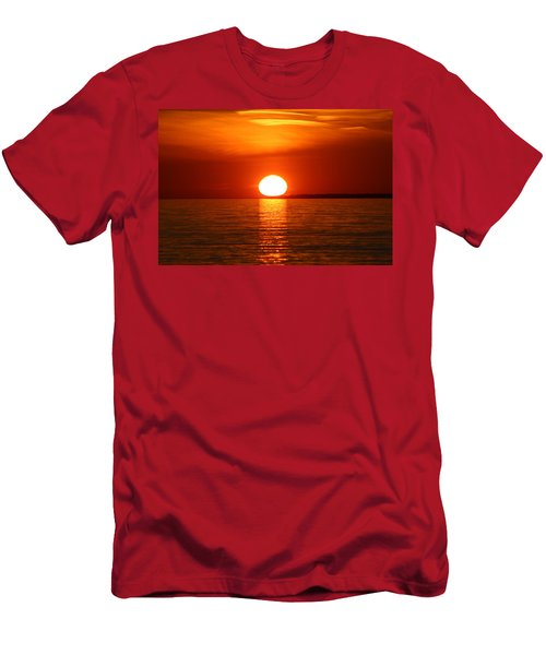 Sunset On Superior Men's T-Shirt (Athletic Fit)