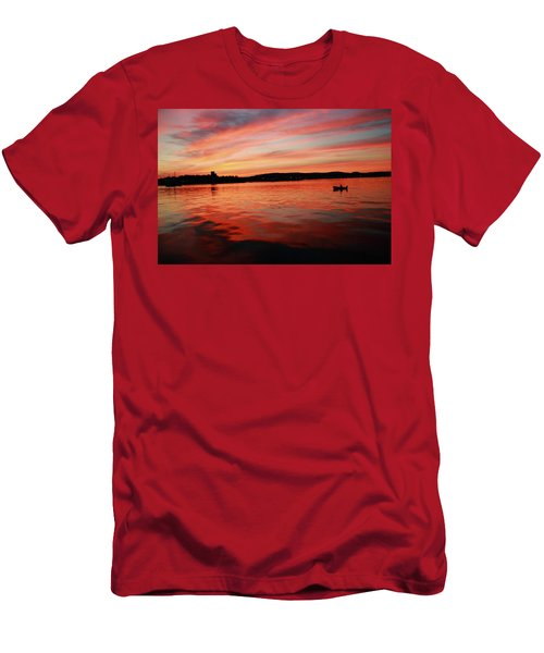 Sunset Row Men's T-Shirt (Athletic Fit)