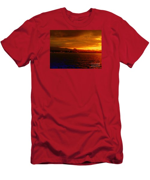 Sunset West Africa Men's T-Shirt (Athletic Fit)
