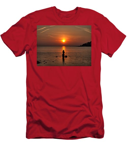 Sunset Zen Men's T-Shirt (Athletic Fit)