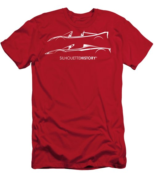 Super Macchina Aperta Silhouettehistory Men's T-Shirt (Athletic Fit)