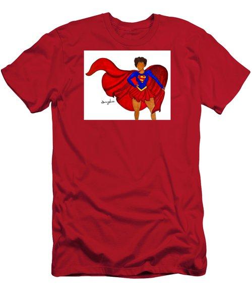 Superwoman I Am  Men's T-Shirt (Slim Fit) by Diamin Nicole
