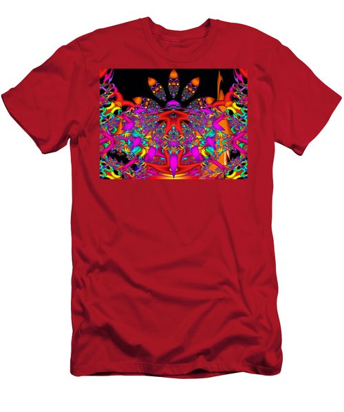 Men's T-Shirt (Slim Fit) featuring the digital art Surrender by Robert Orinski