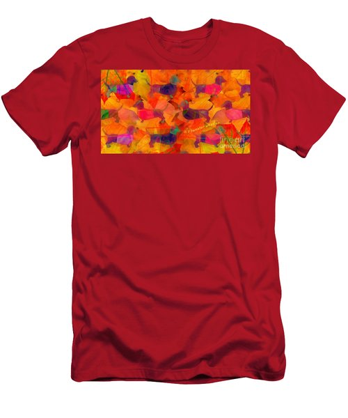 Men's T-Shirt (Athletic Fit) featuring the digital art Sweater Weather 2017 by Kathryn Strick