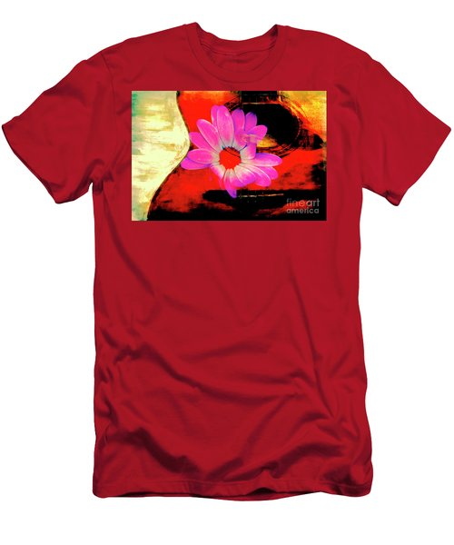 Men's T-Shirt (Slim Fit) featuring the photograph Sweet Sound by Al Bourassa