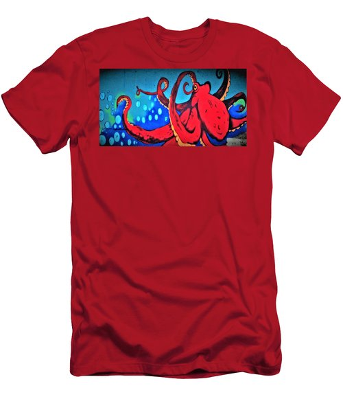 Tacoma Octopus  Men's T-Shirt (Athletic Fit)