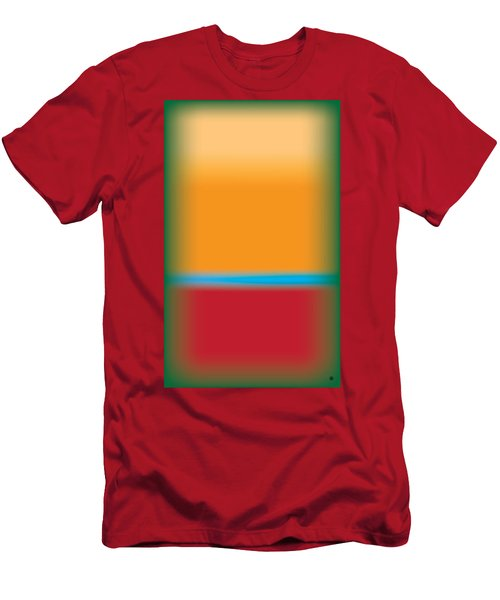 Tall Abstract Color Men's T-Shirt (Athletic Fit)