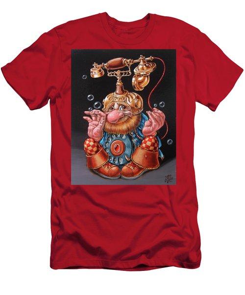 Telephonic Men's T-Shirt (Athletic Fit)