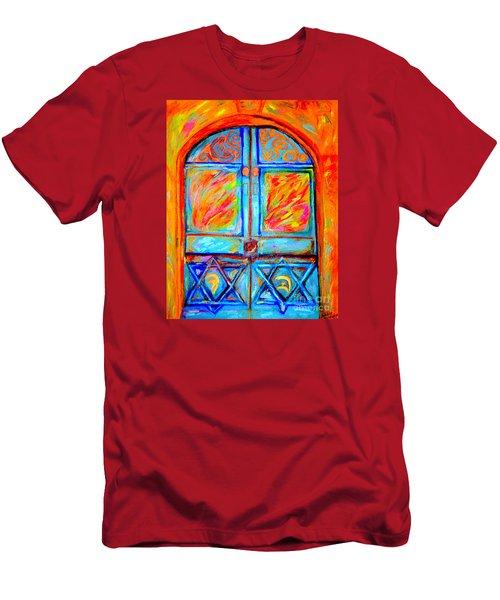 Temple Door Men's T-Shirt (Athletic Fit)