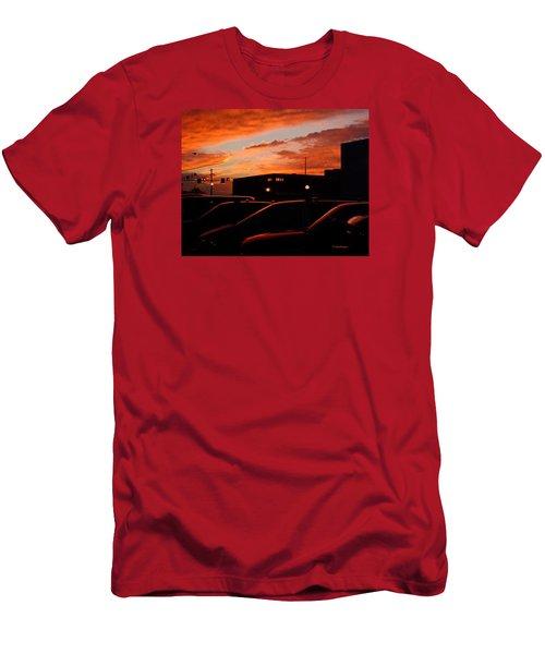 Ten Fourteen P.m. Men's T-Shirt (Slim Fit) by Jana Russon