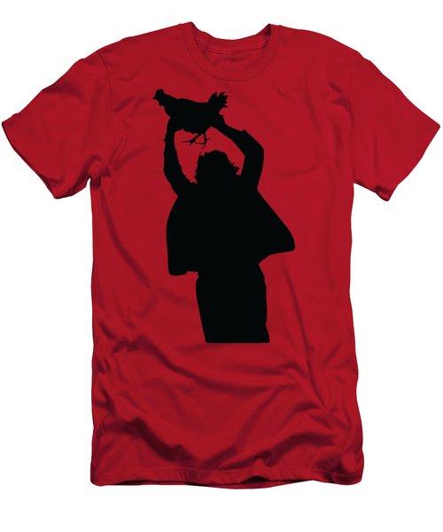 Texas Chicken Massacre Men's T-Shirt (Athletic Fit)