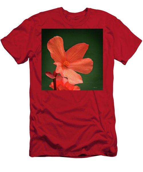 That Orange Flower Men's T-Shirt (Athletic Fit)