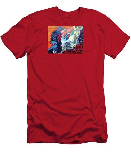 The Alien Scarlet Begonias Men's T-Shirt (Athletic Fit)