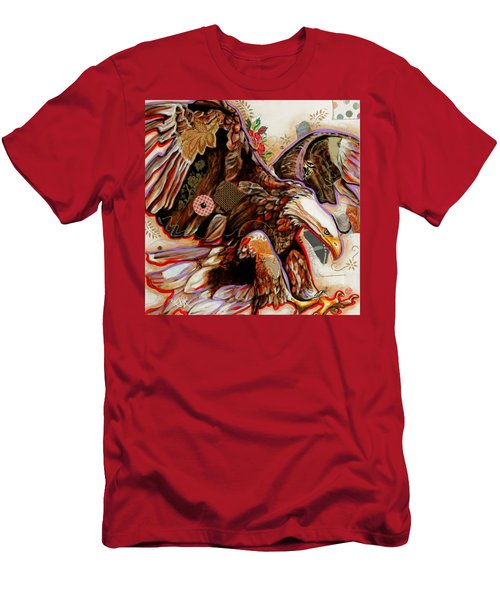 The Bald Eagle Men's T-Shirt (Athletic Fit)