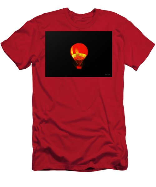 The Balloon At Night - Pa Men's T-Shirt (Athletic Fit)
