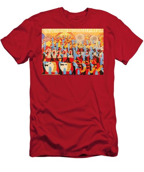 The Band Men's T-Shirt (Slim Fit) by Rodger Ellingson