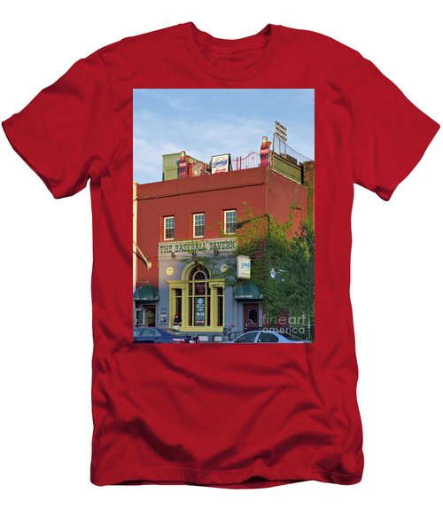 The Baseball Tavern Boston Massachusetts  -30948 Men's T-Shirt (Athletic Fit)