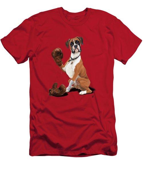 The Boxer Colour Men's T-Shirt (Slim Fit) by Rob Snow