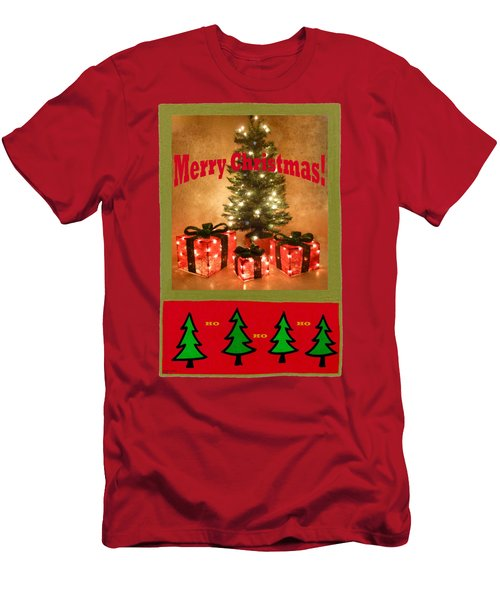 The Boxes Are Empty Ho Ho Ho Men's T-Shirt (Athletic Fit)