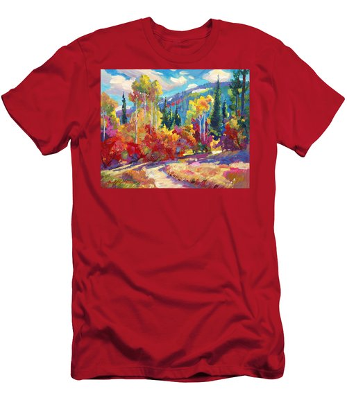 The Colors Of New Hampshire Men's T-Shirt (Athletic Fit)