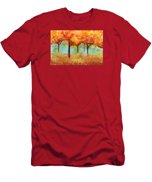 The Colors Of New Hampshire Men's T-Shirt (Slim Fit) by Patricia Arroyo