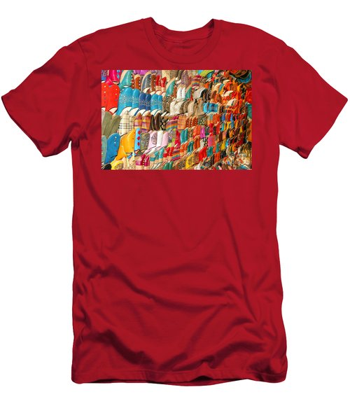 The Colour Of Morroco Men's T-Shirt (Athletic Fit)