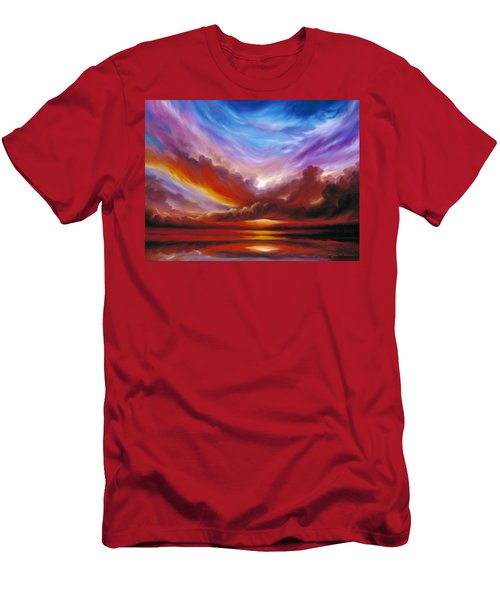 The Cosmic Storm II Men's T-Shirt (Athletic Fit)