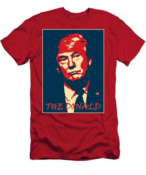 The Donald Men's T-Shirt (Slim Fit) by Richard Reeve