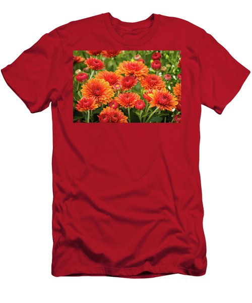 Men's T-Shirt (Athletic Fit) featuring the photograph The Fall Bloom by Bill Pevlor