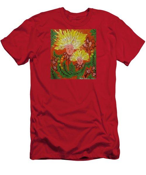 Family Men's T-Shirt (Slim Fit) by Rita Fetisov