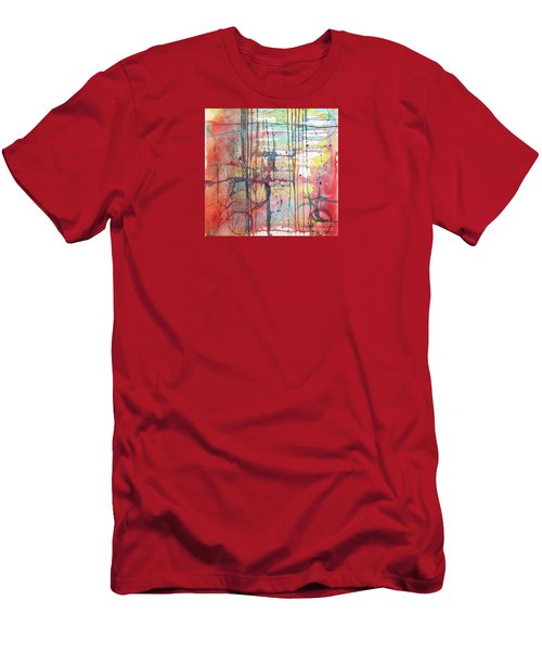 The Fire Within Men's T-Shirt (Slim Fit) by Rebecca Davis