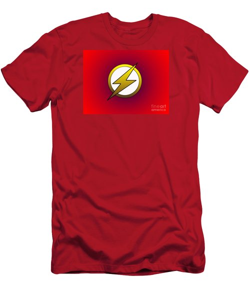 The Flash  Men's T-Shirt (Slim Fit) by Justin Moore