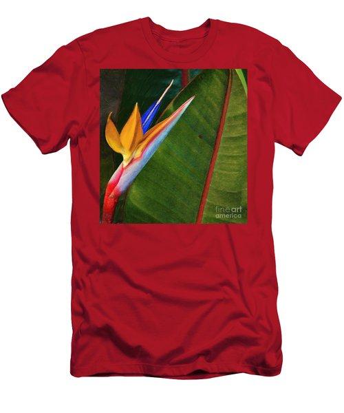 Men's T-Shirt (Slim Fit) featuring the photograph the flower of God by John Kolenberg
