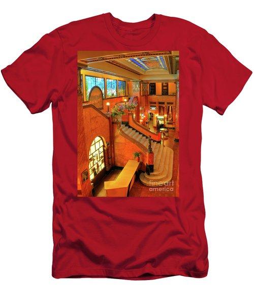 The Gadsden Hotel In Douglas Arizona Men's T-Shirt (Athletic Fit)