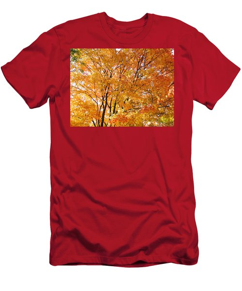 Men's T-Shirt (Athletic Fit) featuring the photograph The Golden Takeover by Robert Knight