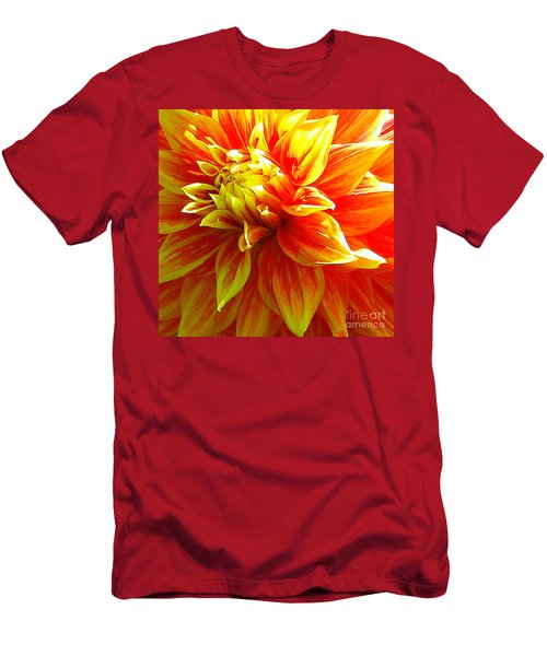 The Heart Of A Dahlia #2 Men's T-Shirt (Athletic Fit)