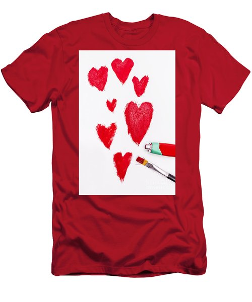 The Heart Of Love Men's T-Shirt (Athletic Fit)