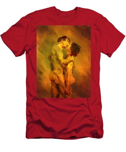 The Kiss Men's T-Shirt (Athletic Fit)