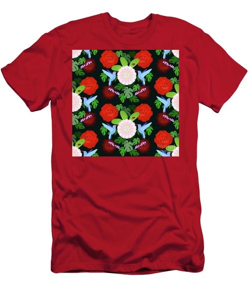 The Ladybird And The Hummingbird Men's T-Shirt (Athletic Fit)