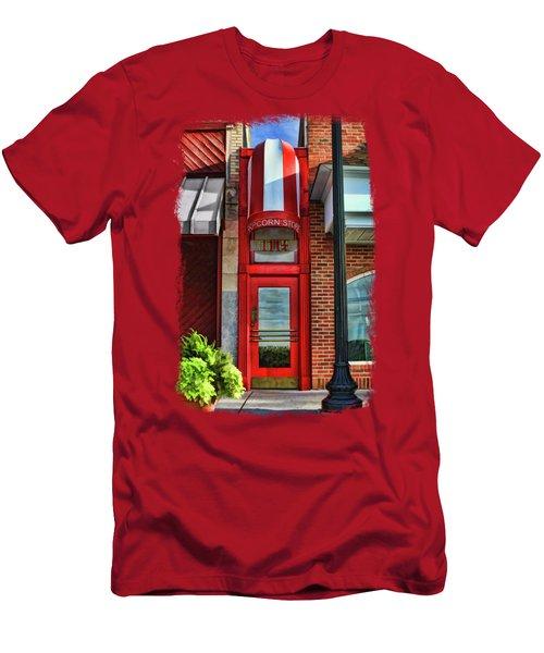 The Little Popcorn Shop In Wheaton Men's T-Shirt (Athletic Fit)