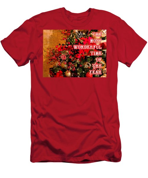 The Most Wonderful Time Of The Year Men's T-Shirt (Athletic Fit)