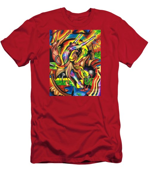 The Numinous Spectrum Of Exaltation Men's T-Shirt (Athletic Fit)