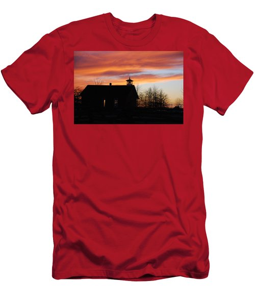 The Old Schoolhouse Men's T-Shirt (Athletic Fit)