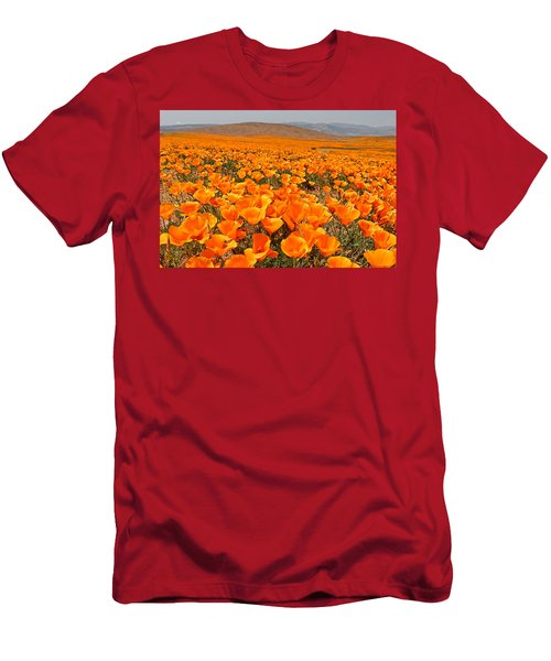 The Poppy Fields - Antelope Valley Men's T-Shirt (Athletic Fit)