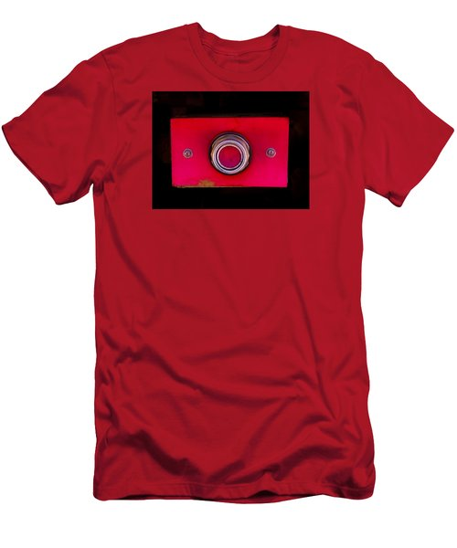 The Red Button Men's T-Shirt (Athletic Fit)